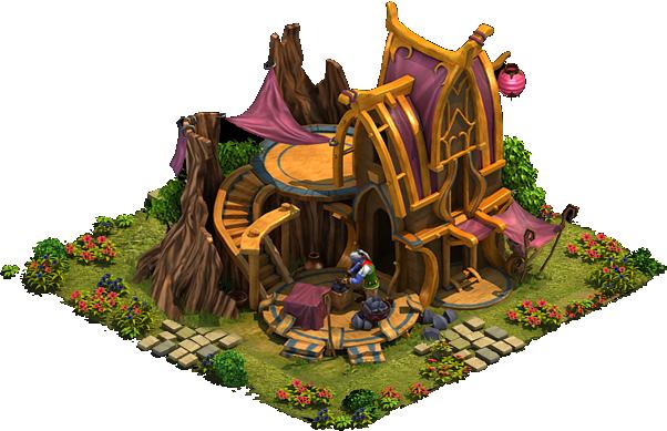 Elvenar Diamonds - Builders' Hut