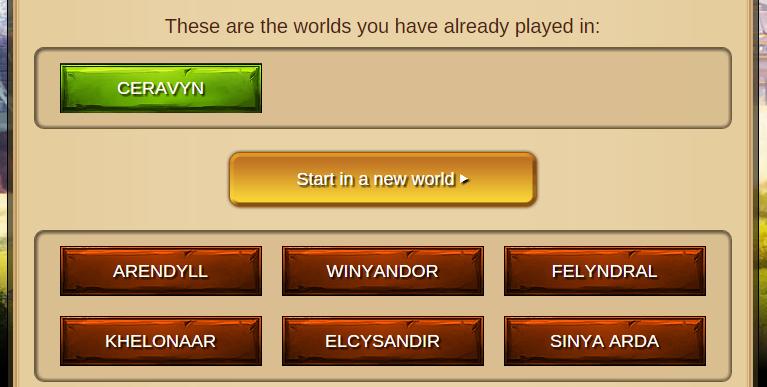 Elvenar Diamonds - 1 Active World