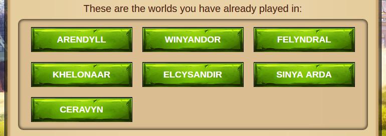 Elvenar Diamonds - 7 Active Worlds