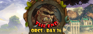 Elvenar Orcs – Day 36 [100%] – The End