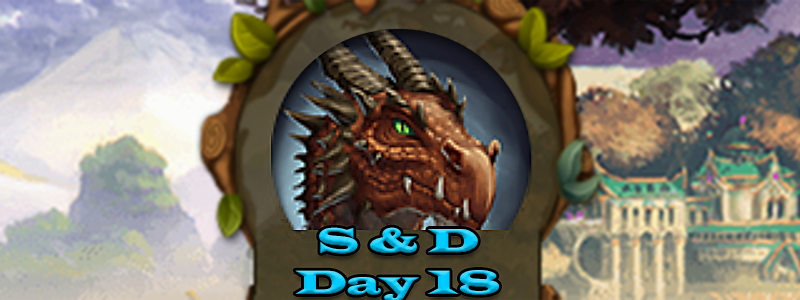 Elvenar Sorcerers & Dragons – Day 18 [55%]