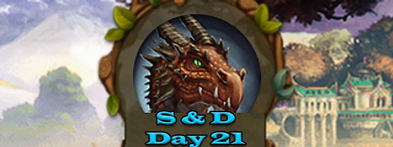 Elvenar Sorcerers & Dragons – Day 21 [62%]