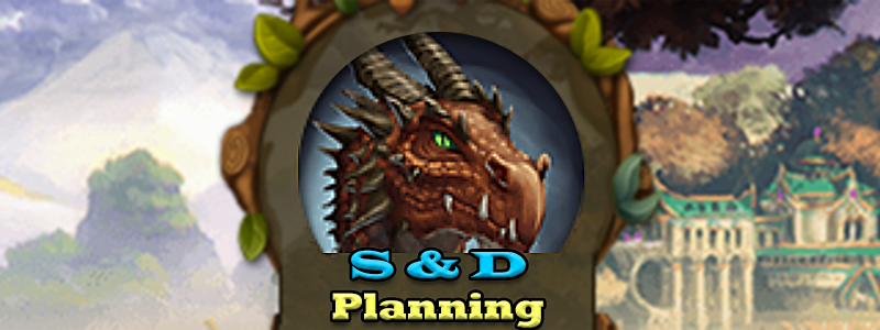 Elvenar Sorcerers & Dragons – Planning