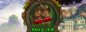 Elvenar Woodelves – Day 34 [100%] – The End