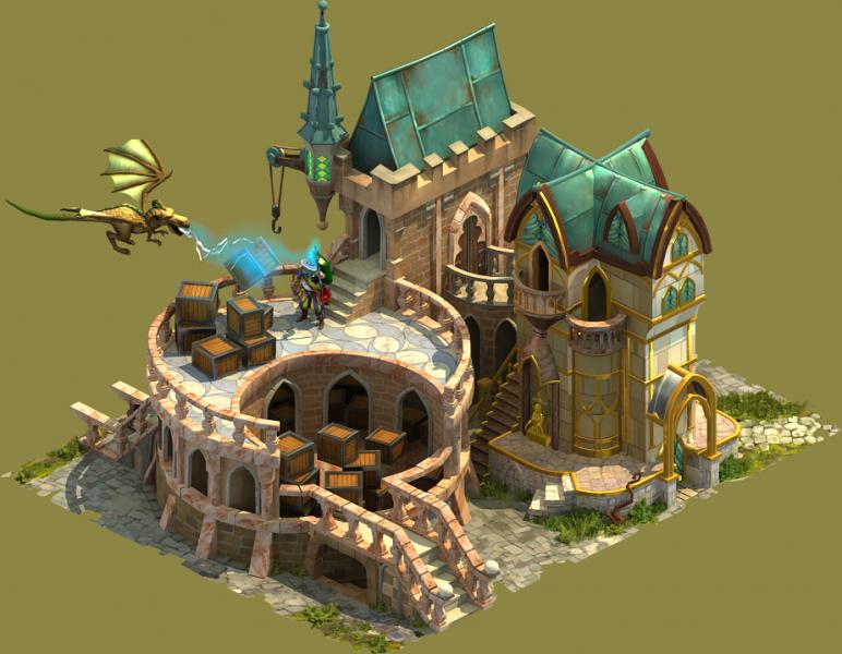 Elvenar Sorcerers & Dragons - Planning Supplies