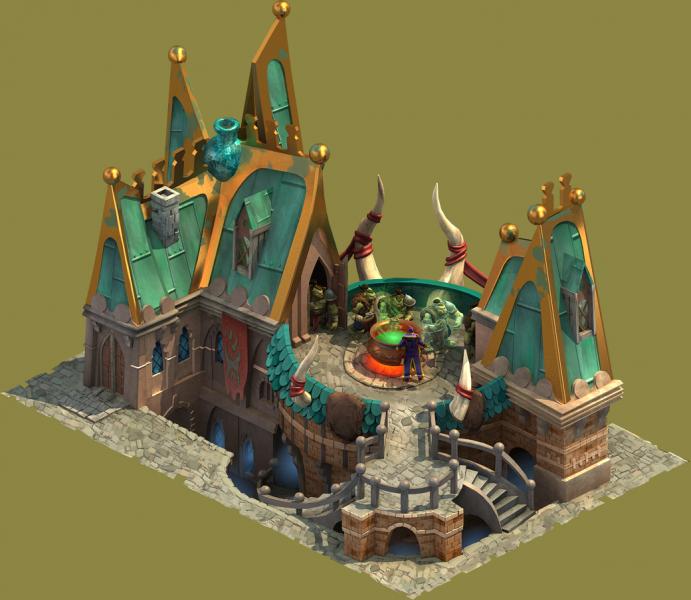 Elvenar Sorcerers & Dragons - Planning Training Size