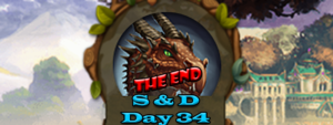 Elvenar Sorcerers & Dragons – Day 34 [100%] – The End