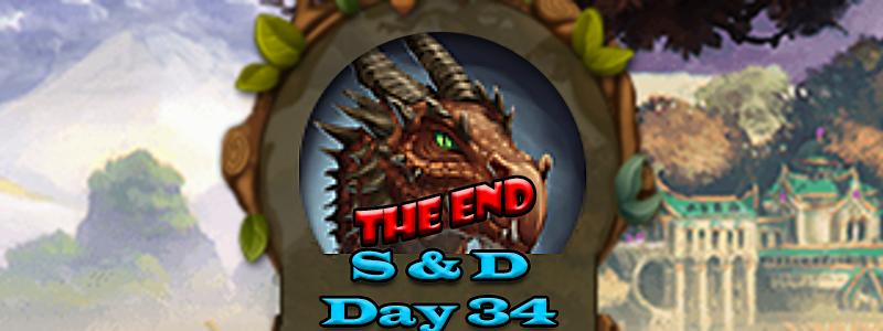 Elvenar Sorcerers & Dragons – Day 34 [100%] – The End